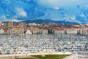 Marseille - famous european harbour