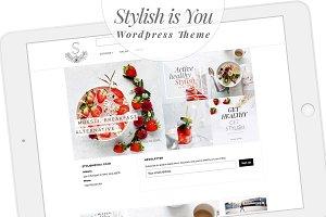 Stylish is You Wordpress Theme