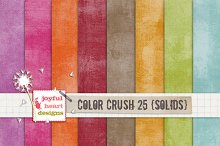 Color Crush 25 {shabby solids} :)