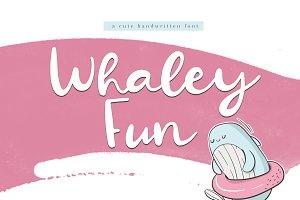 Whaley Fun - Fun Script Font