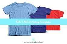 Kids T-Shirt Mockups (AA)