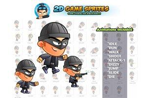 BadGuy 2D Game sprites