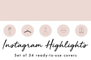 54 Instagram Story Highlight Covers