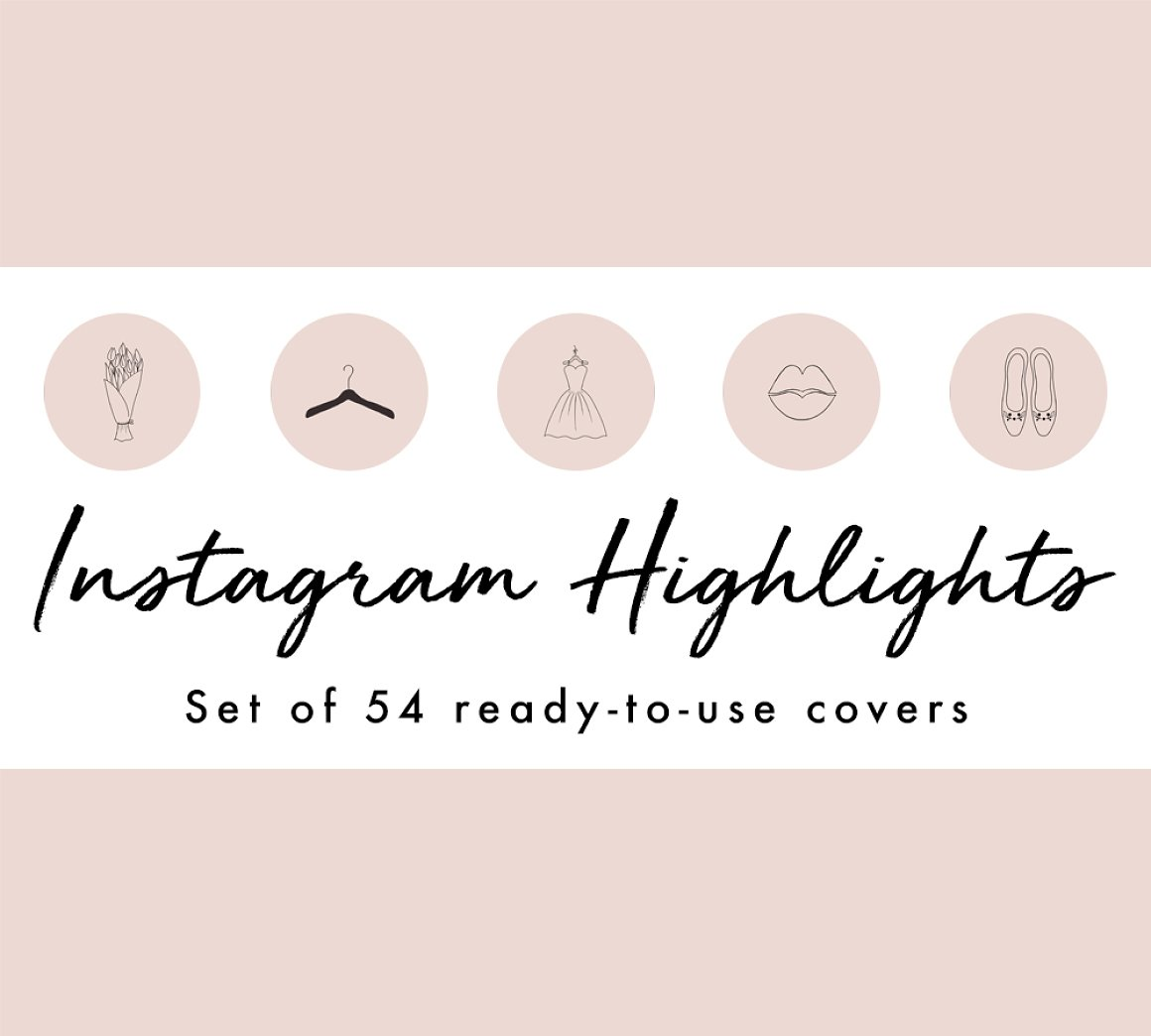20 Brilliant Instagram Highlight Icon Sets For Brands