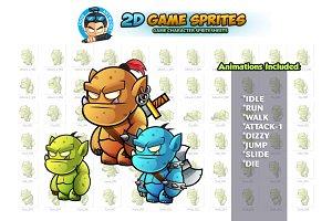 Orcs 2D Game Sprites
