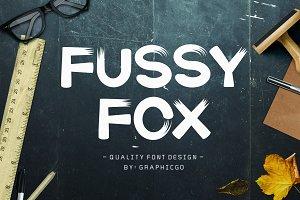 Fussy-Fox Font