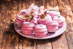 Sweet dessert marshmallow