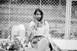 Stylish arabian girl