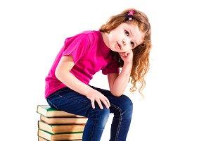 little preschhol girl