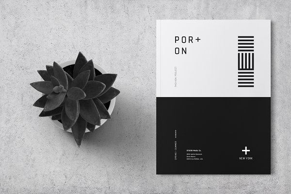 Brochure Templates: Bons - Fashion Lookbook