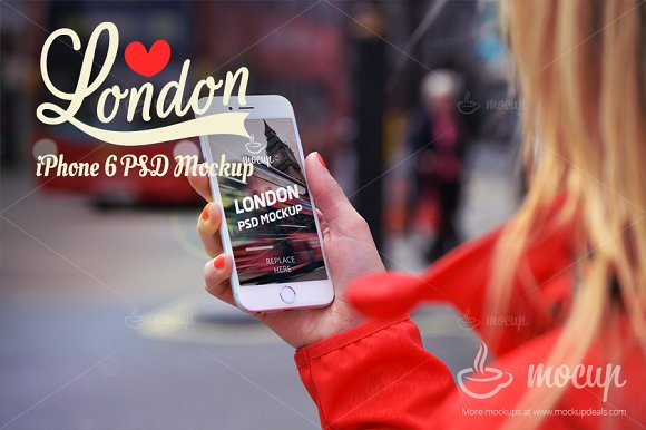 """Download iPhone 6 Mockup in London """"A"""""""