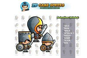 Knights 2D Game sprites