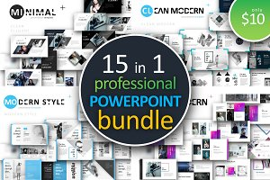 15 in 1 Powerpoint Bundle 95% off