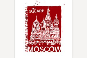 Handdrawn Moscow Image