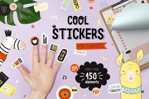 Cool Stickers for your planners
