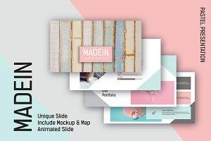 Madein Pastel Powerpoint