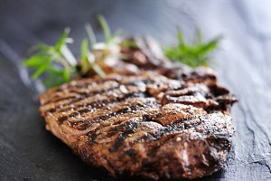 grilled prime rib steak