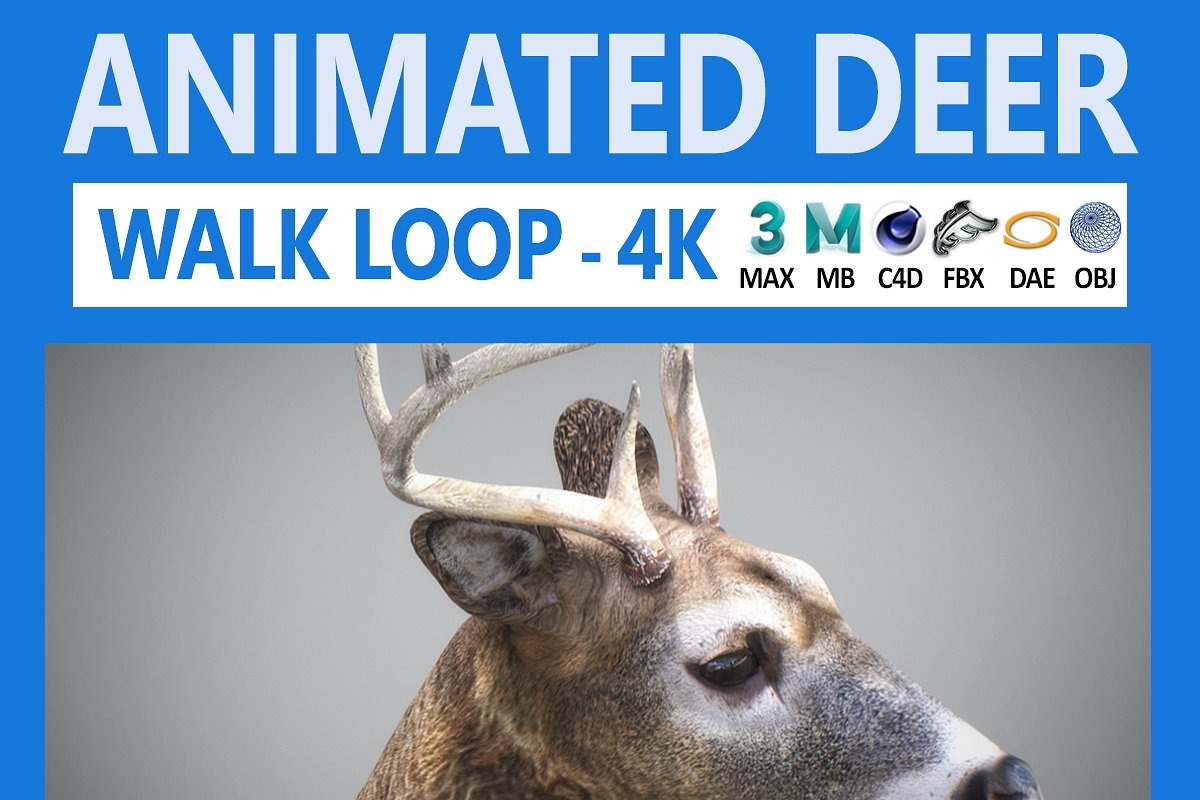 Animated Deer
