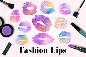 Sparkle Lips, Glamour Lip Images