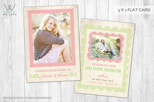 Senior Announcement Graduation card