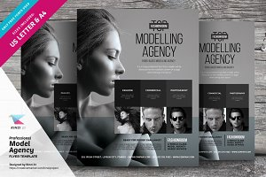 Professional Model Agency Flyer