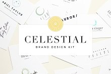 Celestial Brand Design Kit ~ Luna by  in Logos