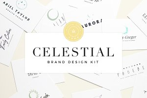 Celestial Brand Design Kit ~ Luna