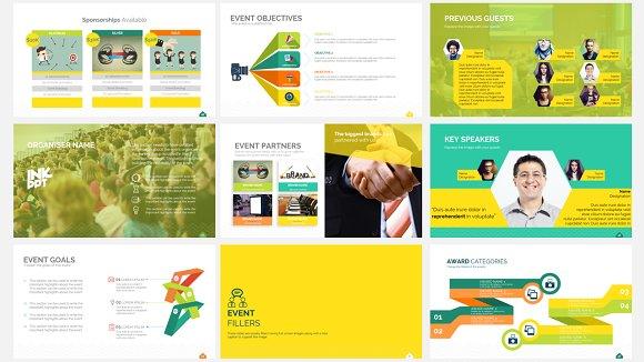 Event Sponsorship Template Presentation Templates on Creative Market – Sponsorship Brochure Template