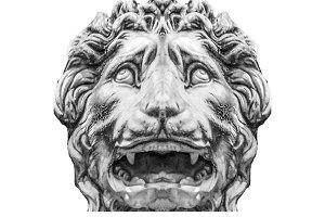 Medici Lion at Loggia della Signoria, Florence, Italy