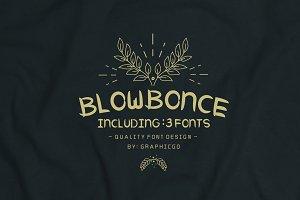 Blowbonce Font