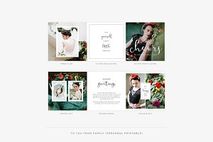 Magdalena Holiday Printable