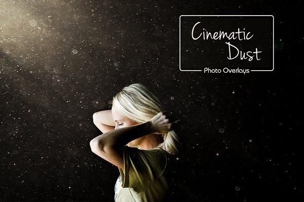 97 Cinematic Dust Overlays