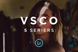 VSCO S series Lightroom preset