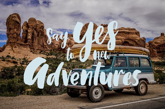 Lettering kit for Travel in Illustrations - product preview 7