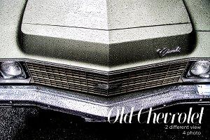 Vintage Chevrolet car in NY.