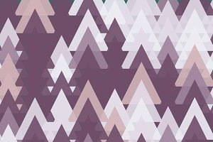 Colorful Abstract Random Triangles