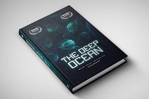 The Deep Ocean - Book Cover Design