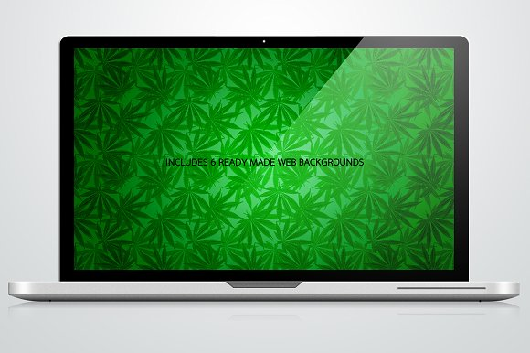Hemp & Cannabis Leaf Patterns in Patterns - product preview 1