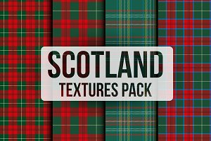 Scotland Check Textures Pack