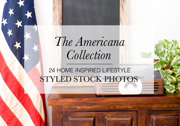 Styled Stock Bundle: Americana Home