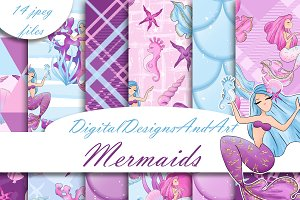 Mermaid patterns