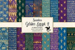 Golden Egypt Digital Paper 2