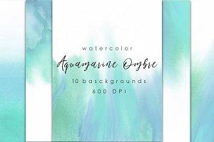 Aquamarine Ombre