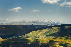 Summer Mountain Range, Green Hills O