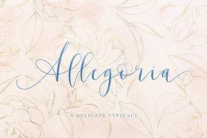 Allegoria - Elegant Calligraphy Font