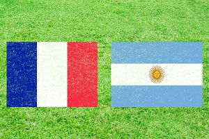 France vs Argentina Sports Background