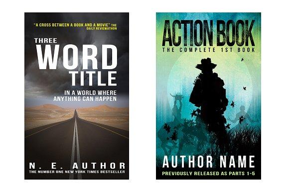 Book Cover Templates ~ Templates ~ Creative Market