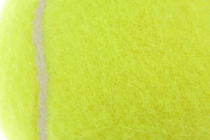 Tennis Ball Macro Abstract Background Image.