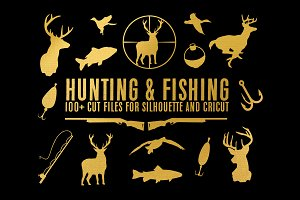 100+ hunting bundle svg dxf pdf