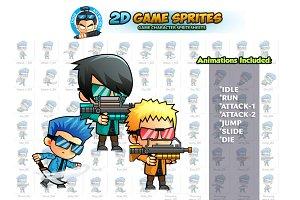 2D Game Sprites